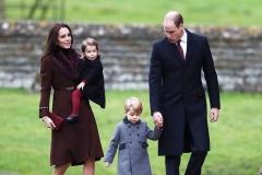 Herzogin Kate - Prinz William - Prinz George und Prinzessin Charlotte