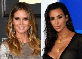 Heidi Klum und Kim Kardashian