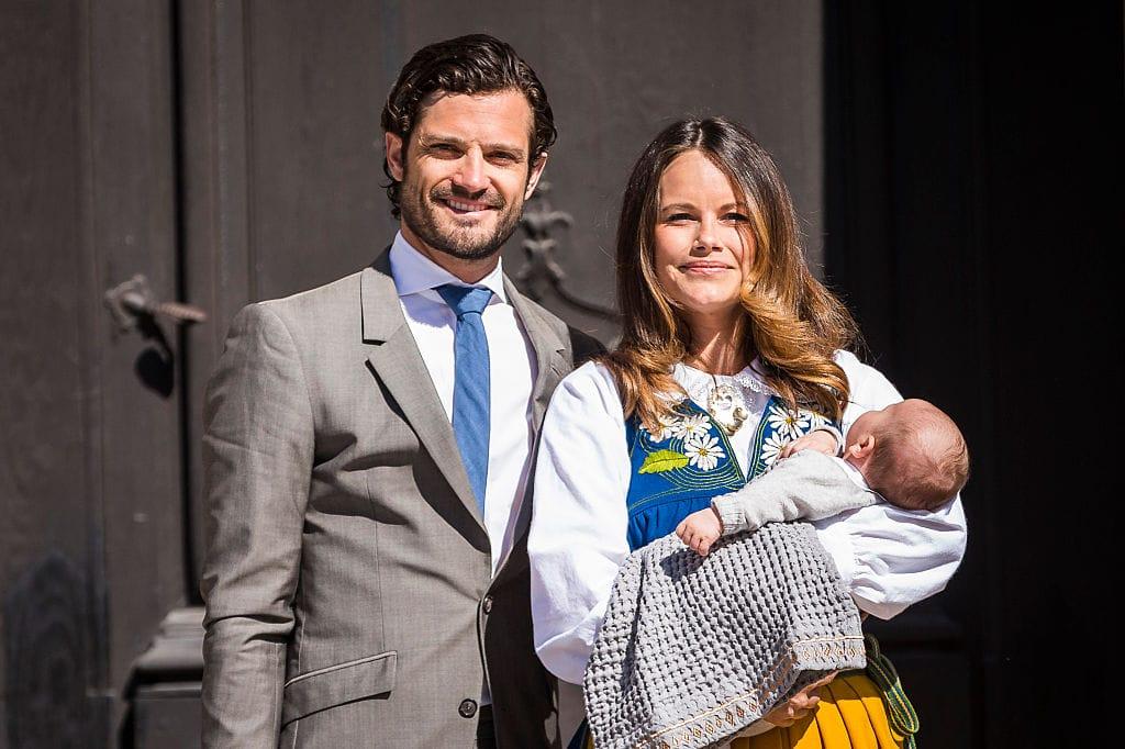 Prinzessin Sofia, Prinz Carl Philip und Prinz Alexander von Schweden
