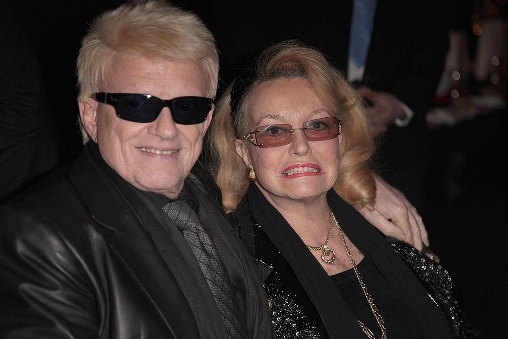 Schalgerstar Heino und seine Ehefrau Hannelore