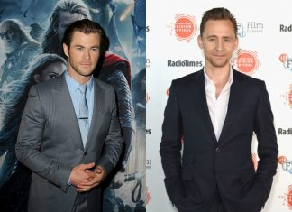 Chris Hemsworth und Tom Hiddleston