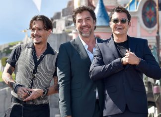 Johnny Depp, Javier Bardem, Orlando Bloom