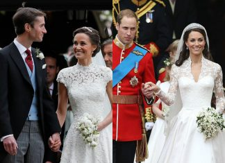 Kate und Pippa Middleton Hochzeit