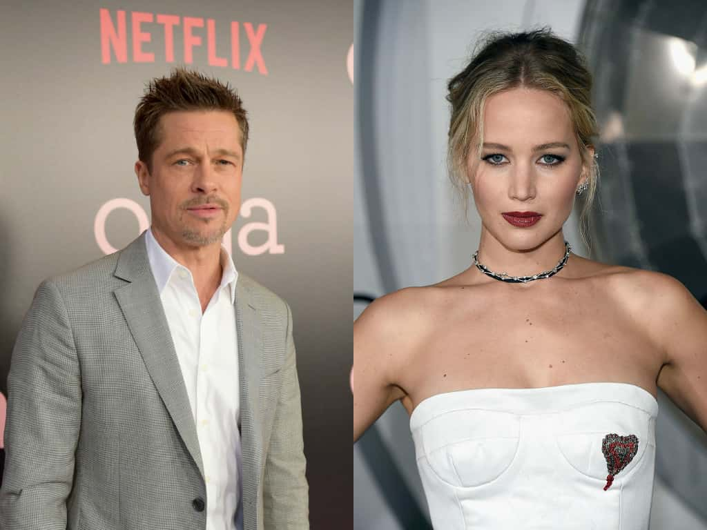 Brad Pitt und Jennifer Lawrence