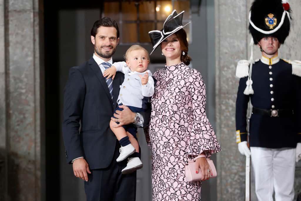 Prinz Carl Philip, Prinz Alexander und Prinzessin Sofia