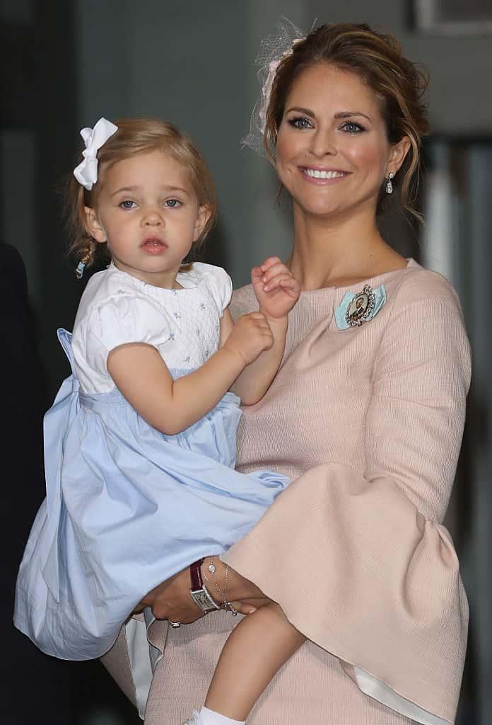Prinzessin Madeleine und Leonore von Schweden
