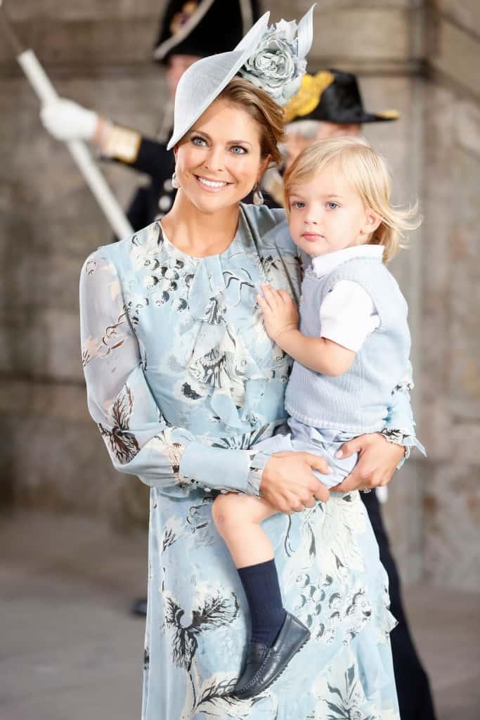 Prinzessin Madeleine und Nicolas von Schweden