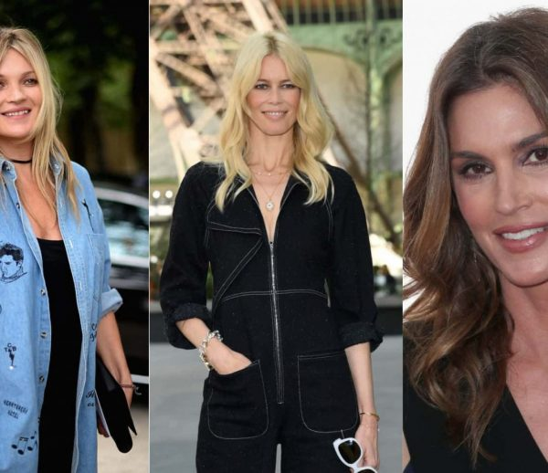 Kate Moss Claudia Schiffer Cindy Crawford